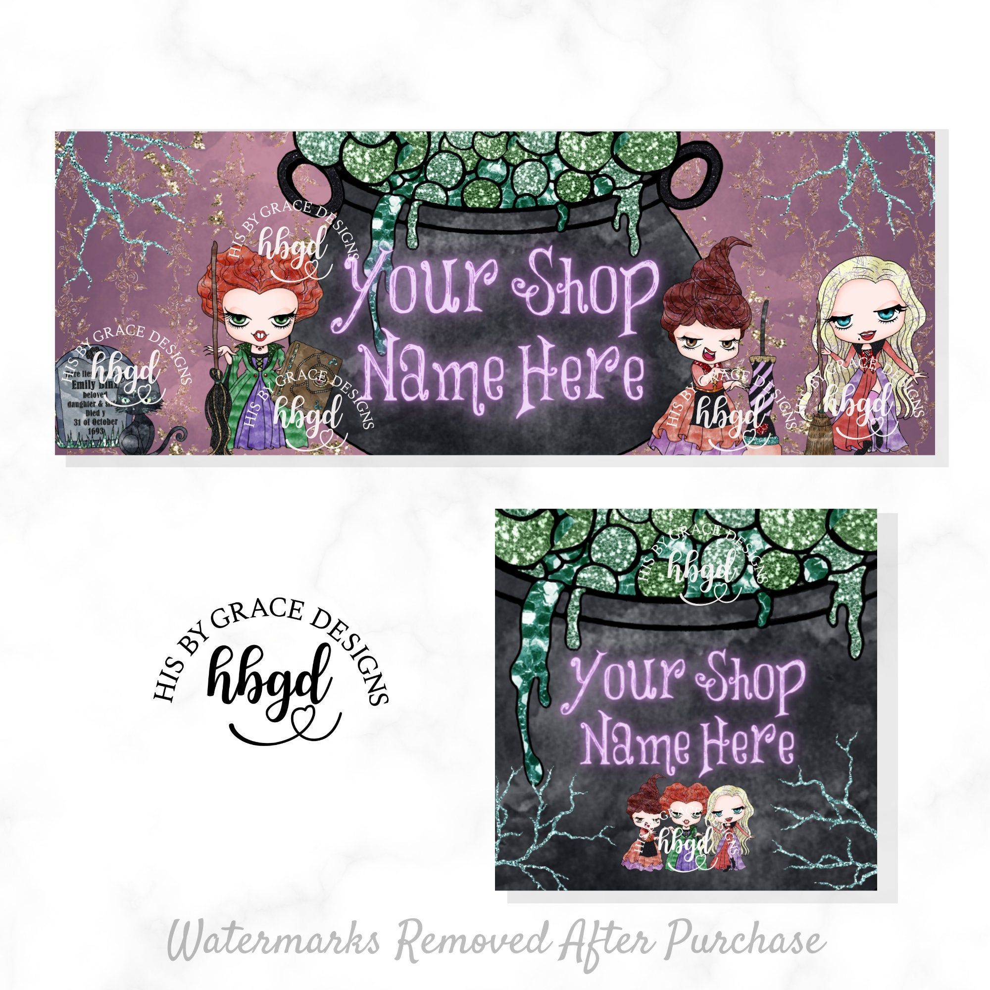 Where Does Halloween 2020 Fall In The Timeline Fall Etsy Banner for Shop Halloween Facebook Cover Timeline Banner