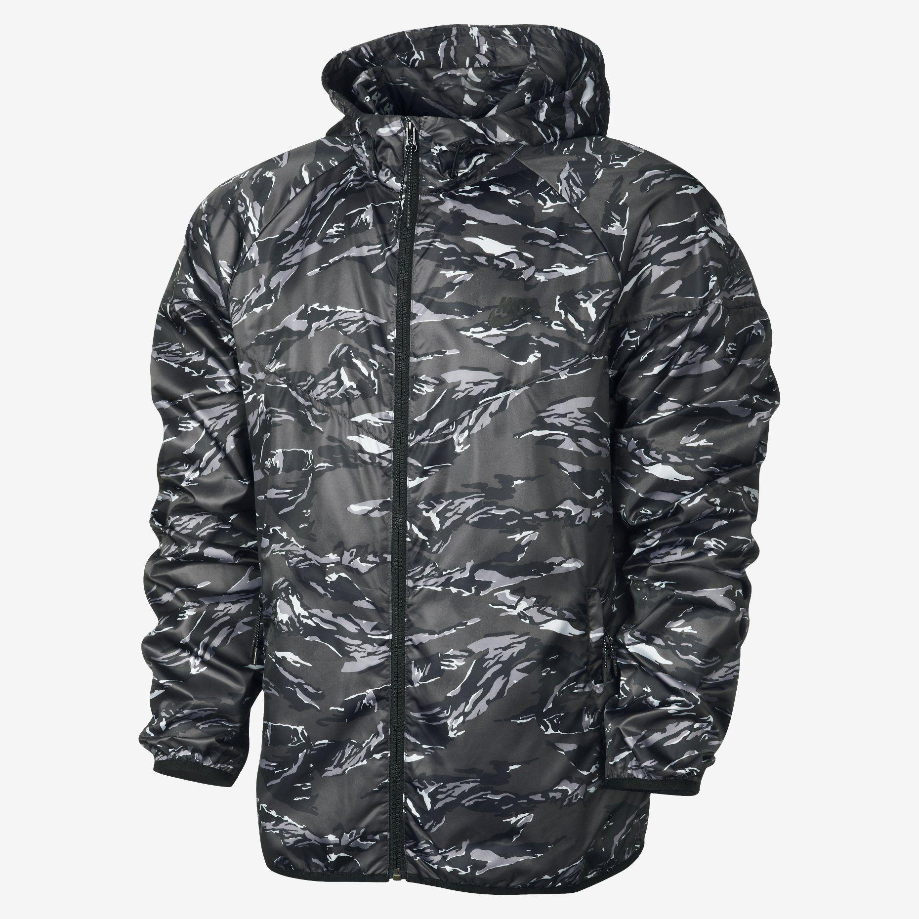 Nike Jacket Camo
