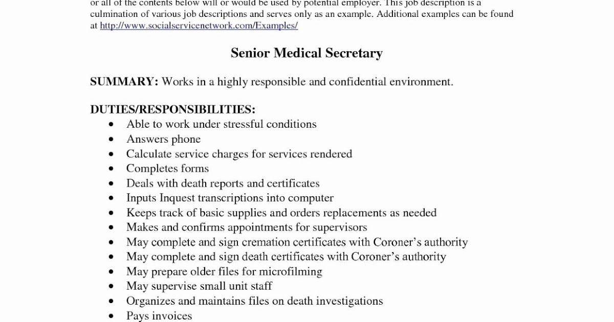 Secretary Resume Examples Secretary Resume Examples 2019 Secretary Resume Examples 2020 Secretar Resume Examples Best Resume Template Resume Template Free