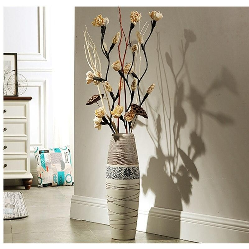 10+ Amazing Standing Vase For Living Room