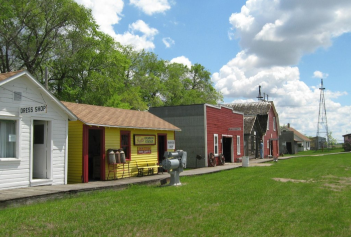This Historic Village In North Dakota Will Have You Longing For The Past Prairie Village North Dakota Village