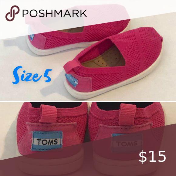 TOMS Kids' Classic Slip Ons (Toddler/Little Girl)