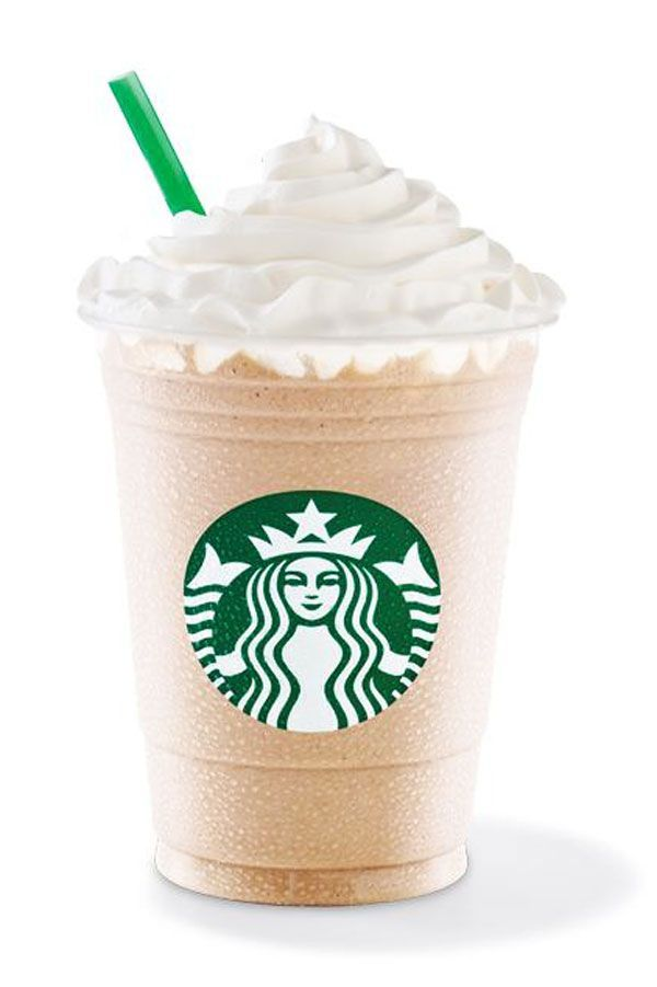 White Chocolate Mocha FrappuccinoWhat's in it: Coffee and white chocolate-flavored sauce, blended with milk and ice; topped with sweetened whipped cream.Status: Currently available. Originally offered as early as 2005. #refinery29 http://www.refinery29.com/2015/08/91945/starbucks-frappuccino-flavors#slide-35