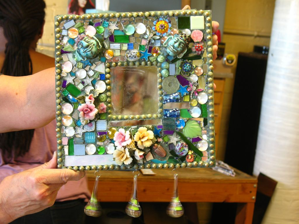 Eve's mosaic mirror