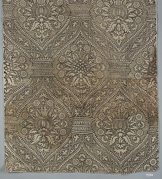 Date: 16th century Culture: Spanish Medium: Linen ...