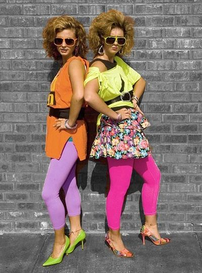 Dress like the 80s pictures fashion