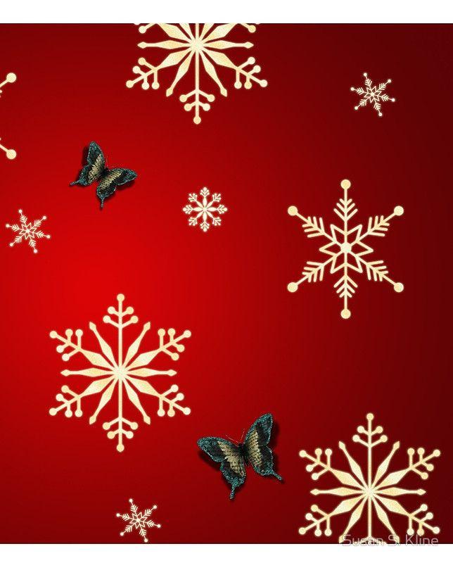 Snowflakes & Butterflies