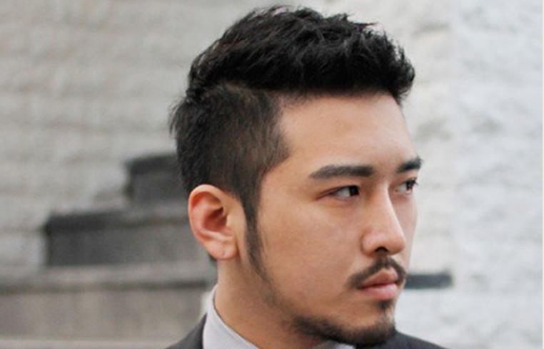 Cool Asian Man Haircut Short Blow Back Asian Short