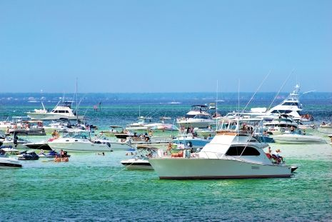 Get together with friends on the waters off Destin, Fort Walton Beach and Okaloosa Island.