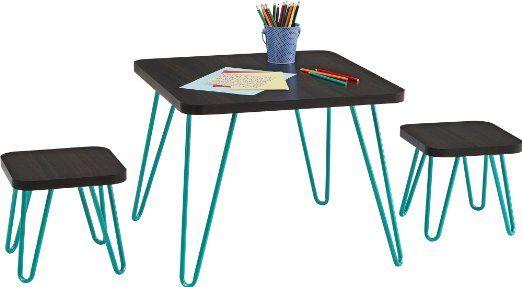 Swell Amazon Com Cosco Betty Retro Style Kids Table And Stools Machost Co Dining Chair Design Ideas Machostcouk
