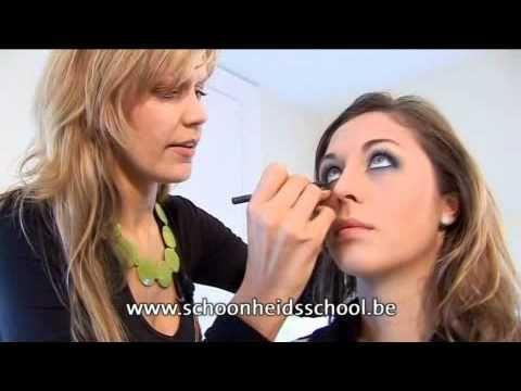 Make Up - Smokey Eyes met topdocente van Schoonheidsschool.be