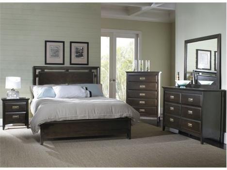 Sl 8144 Queen Set Samuel Lawrence Ridgeway Queen Bedroom Set