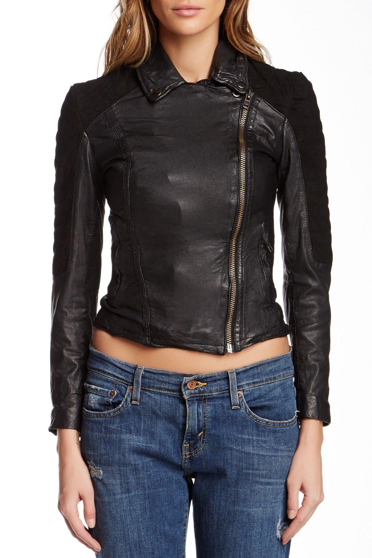 On Hautelook Muubaa Xera Quilted Leather Biker Jacket Biker Jacket Leather Biker Jacket Jackets [ 1800 x 1200 Pixel ]