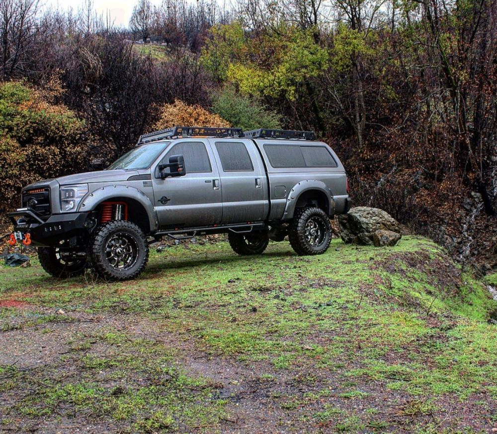 Build A Truck Ford: 2014 Ford F250 Lariat Ultimate FULL SEMA BUILD Overland