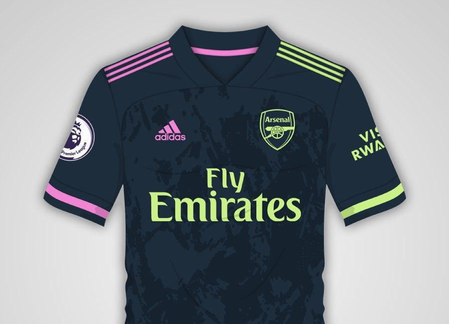 Arsenal 2020 21 Third Kit Prediction In 2020 Soccer Outfits
