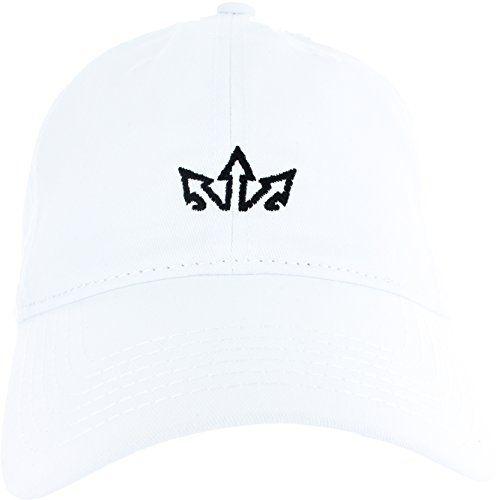 e5c3ee47c8f Dad Hat Cap - Essencial Caps Embroidered Adjustable White…