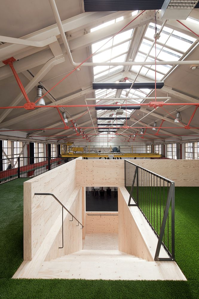 Gallery - Wooden Structure at Launchlabs / Stereo Architektur - 3