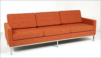 Florence Knoll: Sofa Reproduction   Fabric