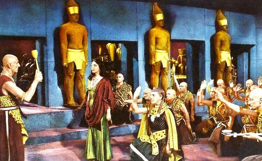 Land Of The Pharaohs Joan Collins 1955 African Mythology Film Art