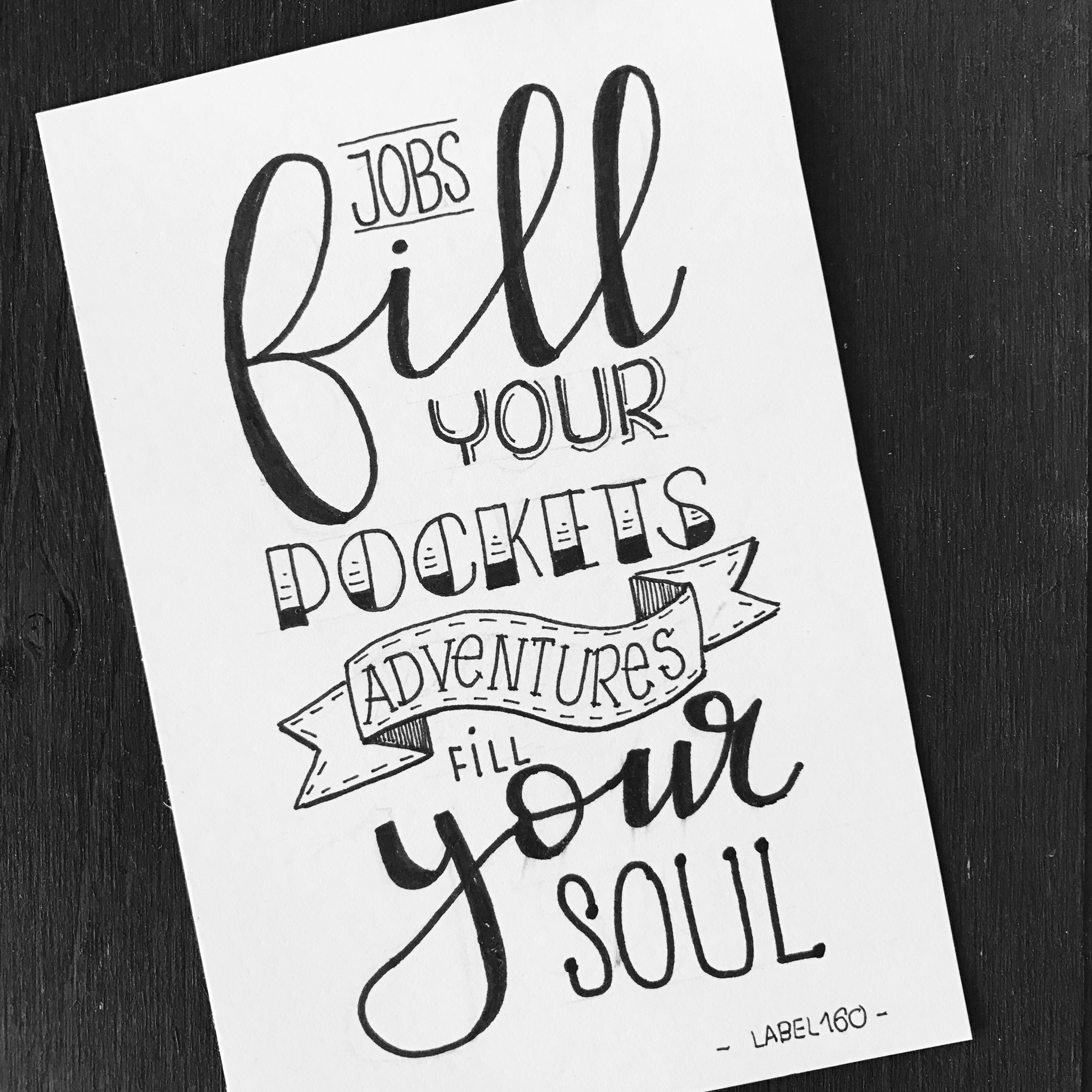 Kalligrafi, Inspiration