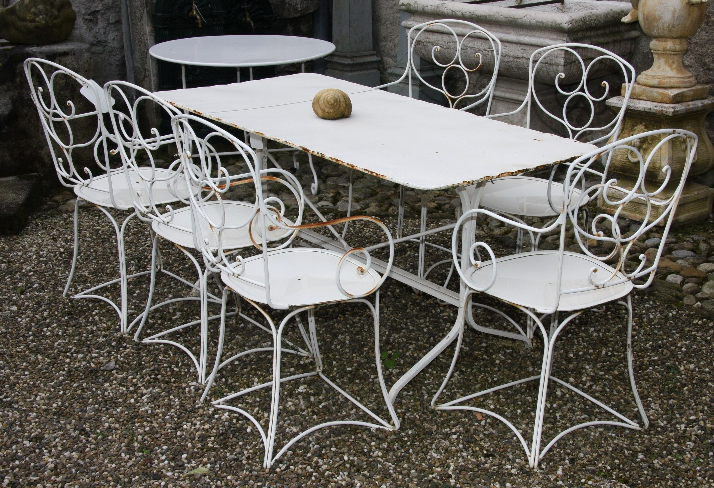 Salon De Jardin Fer Forge Occasion
