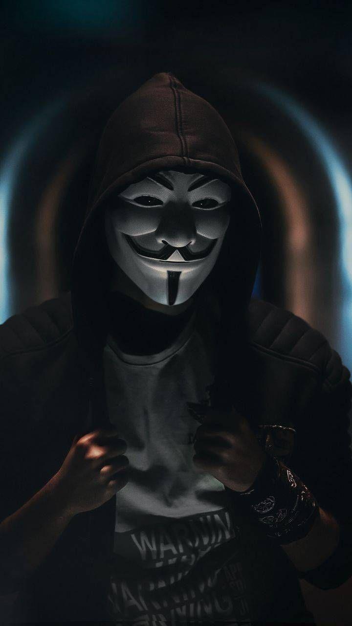 Anonymous mask wallpaper by Ankitraaj - 11 - Free on ZEDGE™