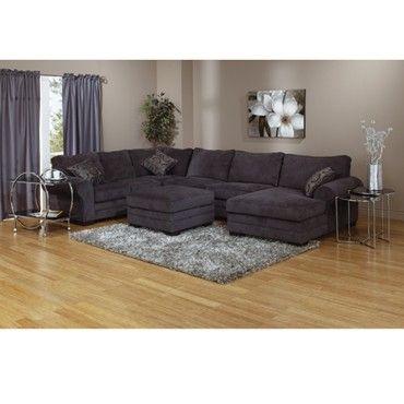 Charcoal Gray Sectional Sofa