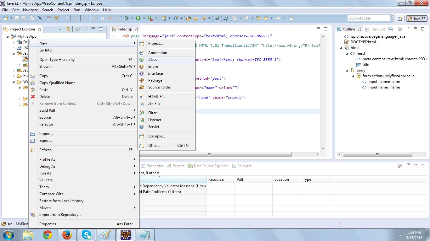Servlet Example Programs In Eclipse