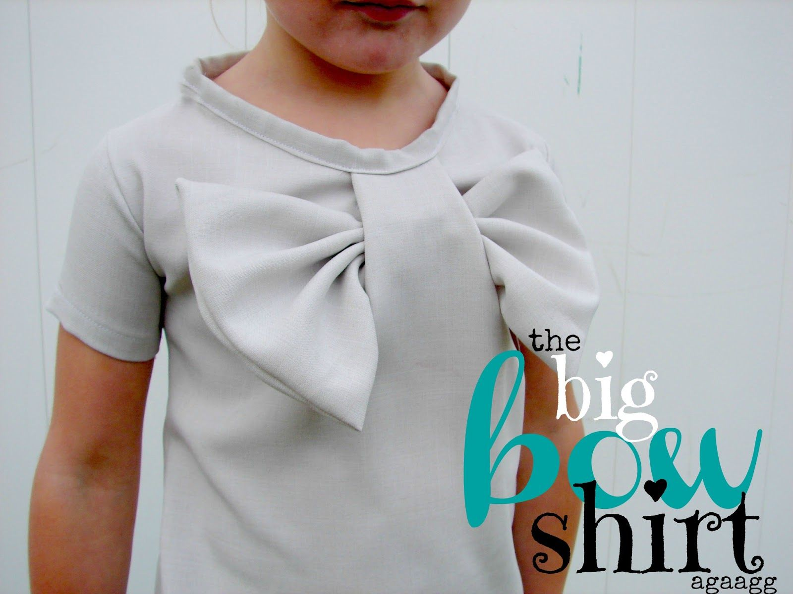 A girl and a glue gun: bow shirt | Handmade | Pinterest | Para las ...