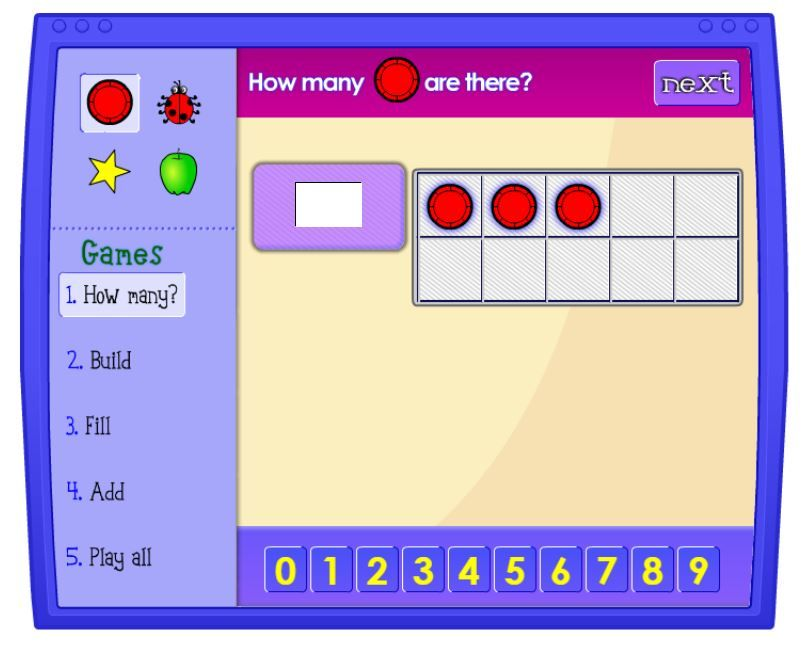 Online 10 Frame Game - Students can use the tens frames to count how ...