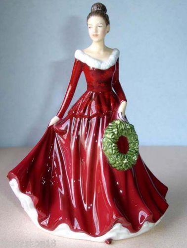 Royal-Doulton-MISTLETOE-And-WINE-Pretty-Ladies-Christmas-Songs-