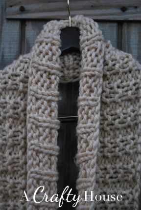 A Crafty House   Knit and Crochet Patterns and Accessories: Easy ...