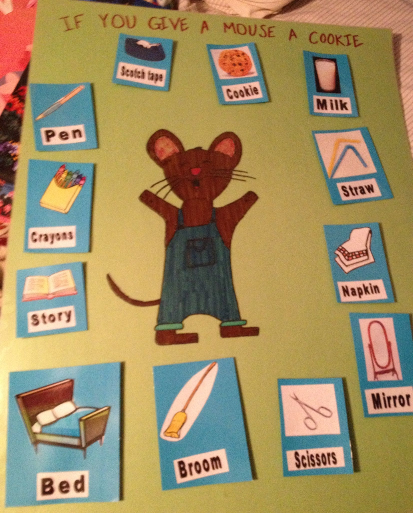 Teaching Cause And Effect With How To Give A Mouse A