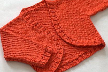 Child Bolero Knitting Pattern : baby shrug knitting pattern Kathryn Ivy - Blog - A Christmas Shrug Knitti...