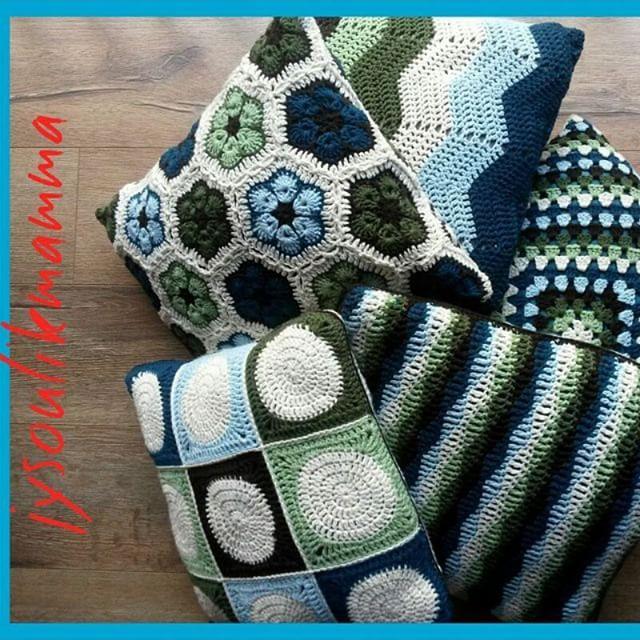 jysoulikmamma_brilliantmommy crochet pillows | Crochet para casa ...
