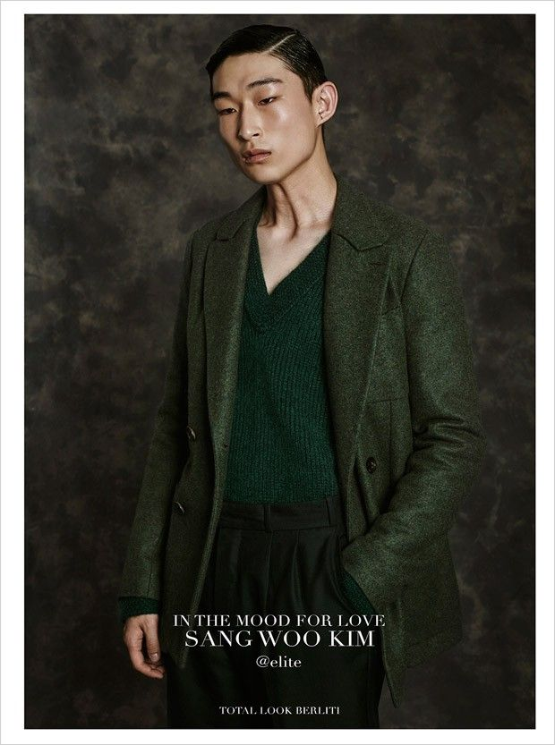 "Sang Woo Kim in ""Movie Star"" by Fabrizio Scarpa for GQ Italia December 2015 Issue"
