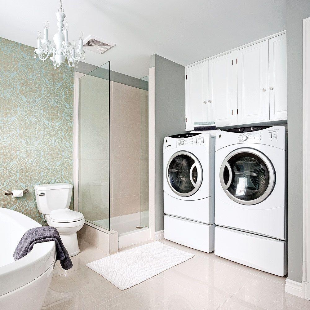 Petite Salle De Bain Avec Laveuse Secheuse ~ rangement pratique salle de bain alamode furniture com