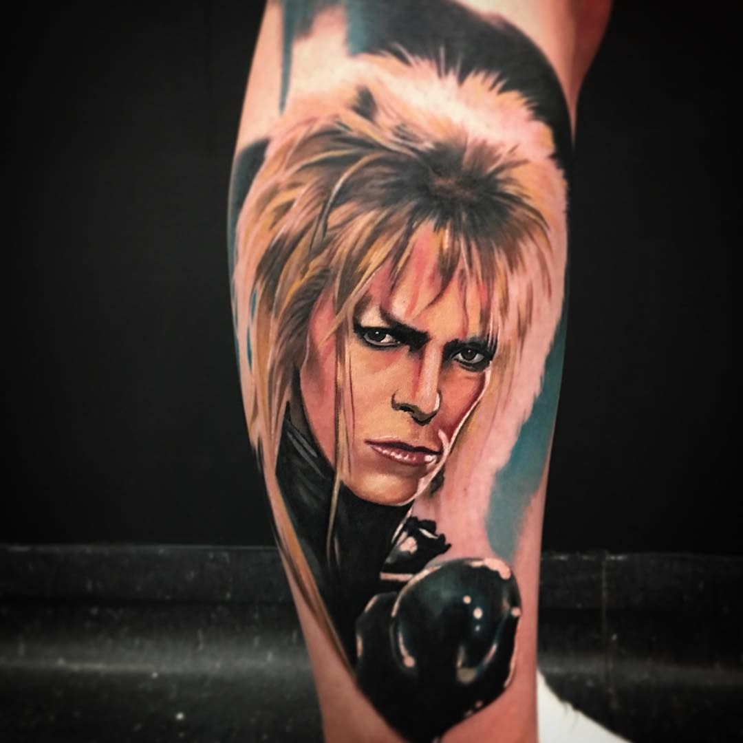 4ee60c7a35406 David Bowie #goblin king | Tattoo Ideas | Bowie tattoo, David bowie ...