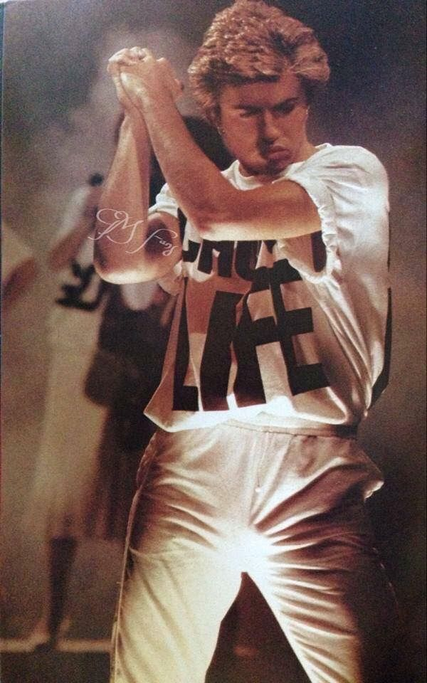 A Still of George Michael From the