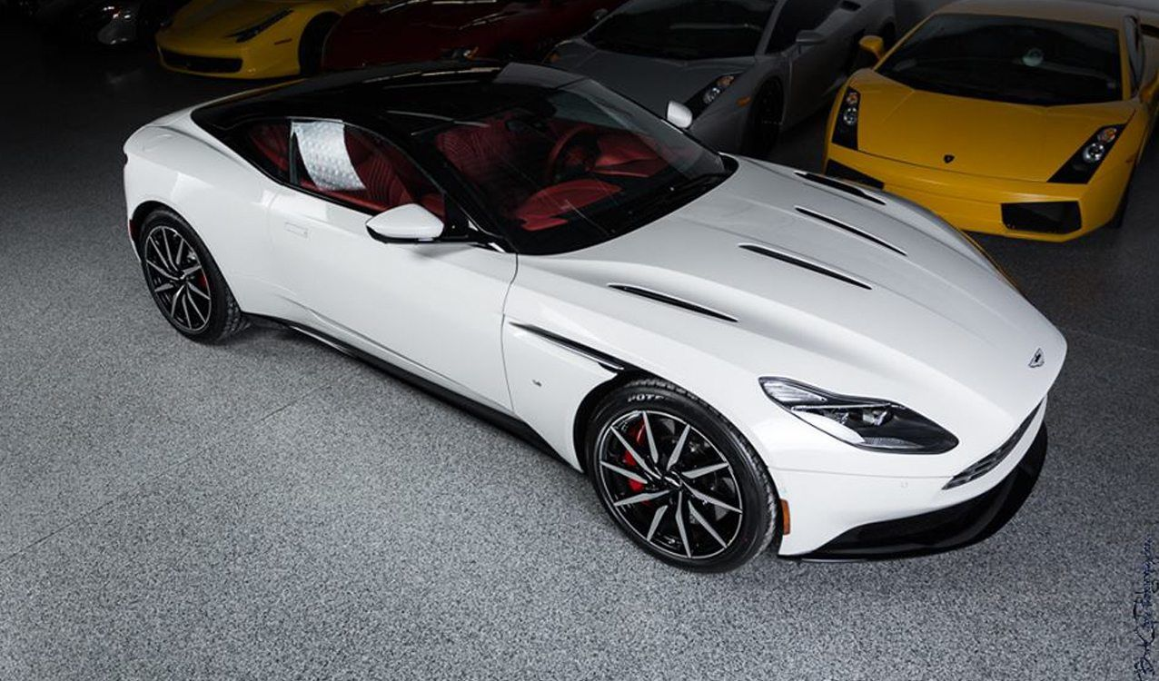 White 2017 Aston Martin Db11 You Can Buy Right Now Aston Martin