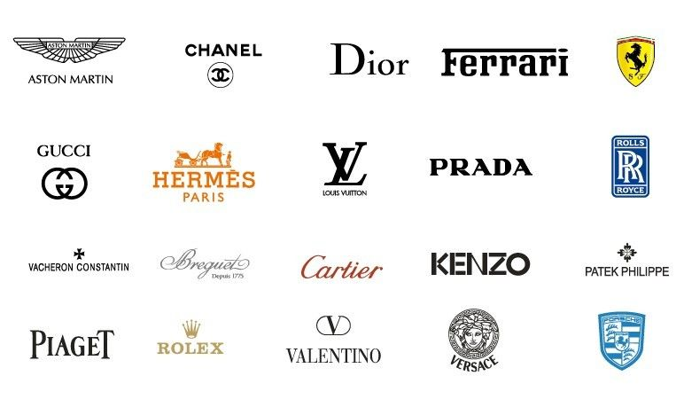 Free Collection Of Vector International Fashion Brands Logos Titanui Fashion Logo Branding Brand Logo Fashion Logo