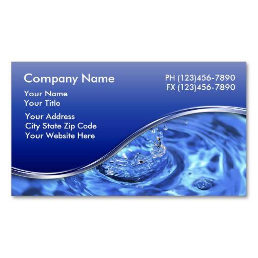 Plumber Business Cards Plumbing Business Card Templates