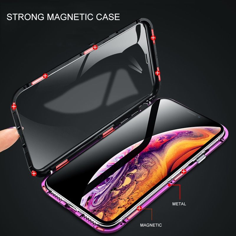 Iphone Doublesided Glass King Mobile Phone Cases