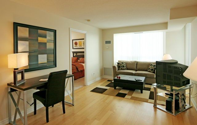 #11 AFTER STAGING: Furnish and accessorize your condo with amazing options from Executive Furniture Rentals.