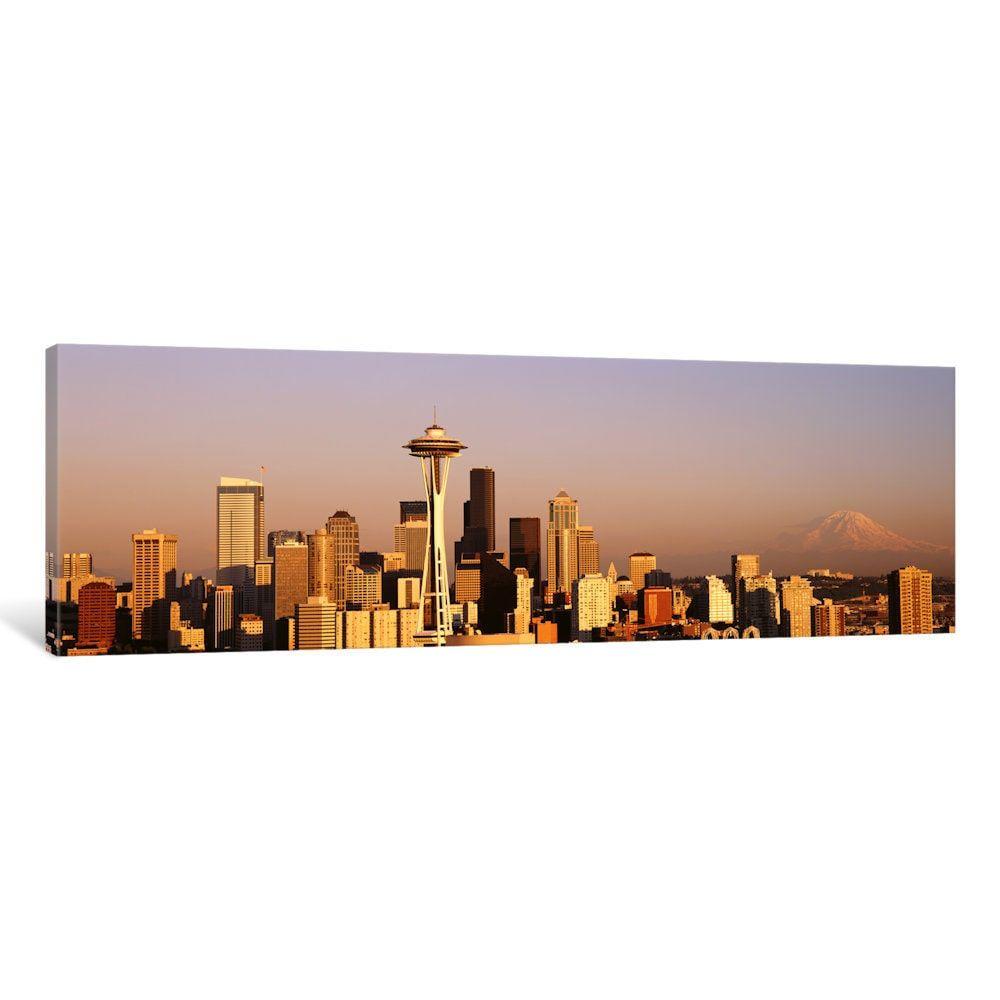 iCanvas \'Skyline, Seattle, Washington State, Usa\' by Panoramic ...