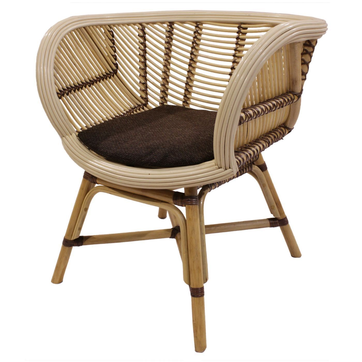 Cora Rattan Chair Natural Rattanchair Mobilier
