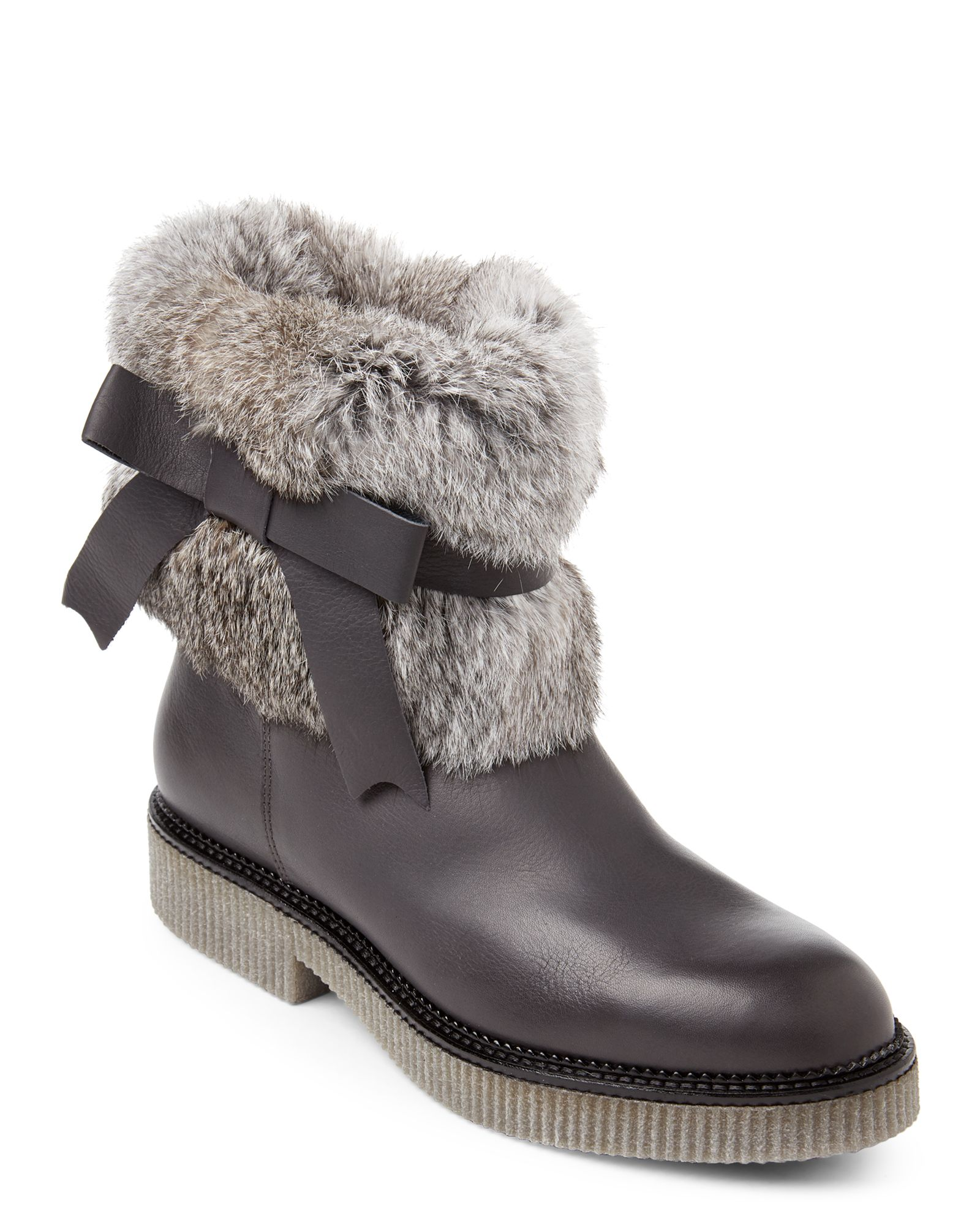 Elena Womens Full Grain Leather Flat Knee High Zip Boots Tan Brown