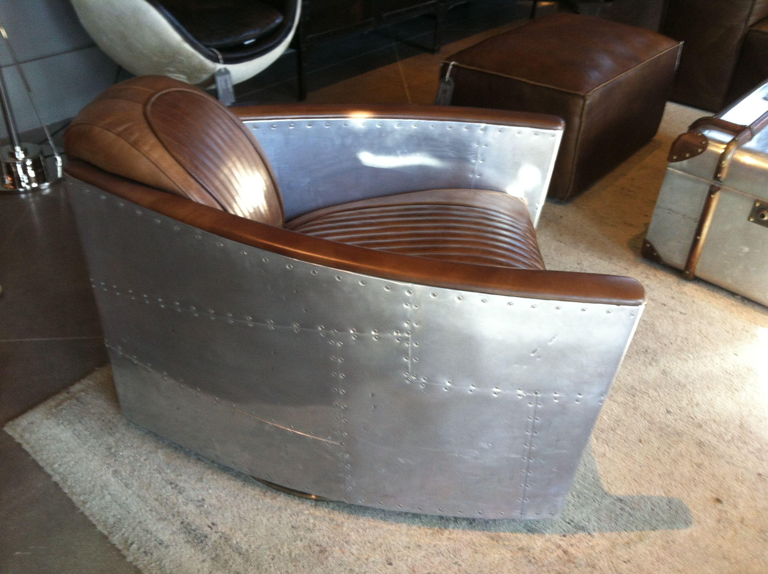 Restoration hardware aviation chair