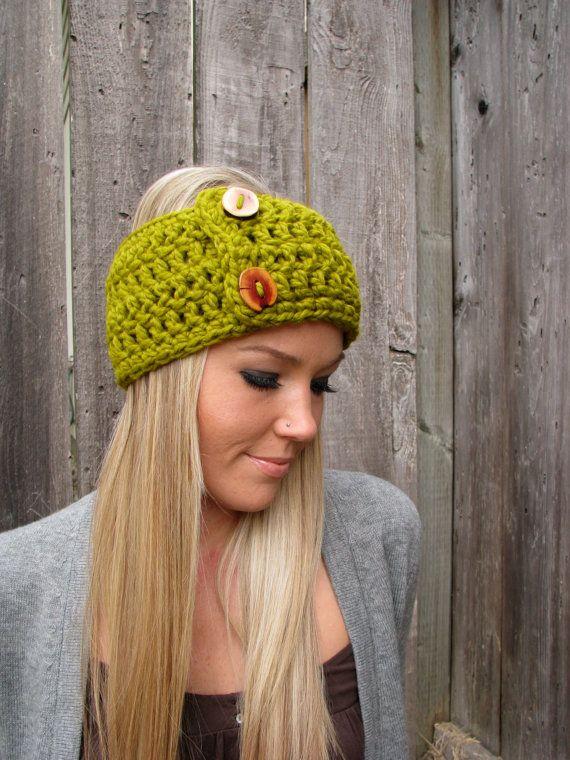 Lamb\'s Wool Lemongrass Wrap Headband Hair Accessory Band Fashion ...