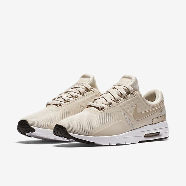 Nike Air Max Zero Womens Sneakers 857661 103 Light Orewood